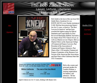 Bob Zadek, KNEW AM Radio